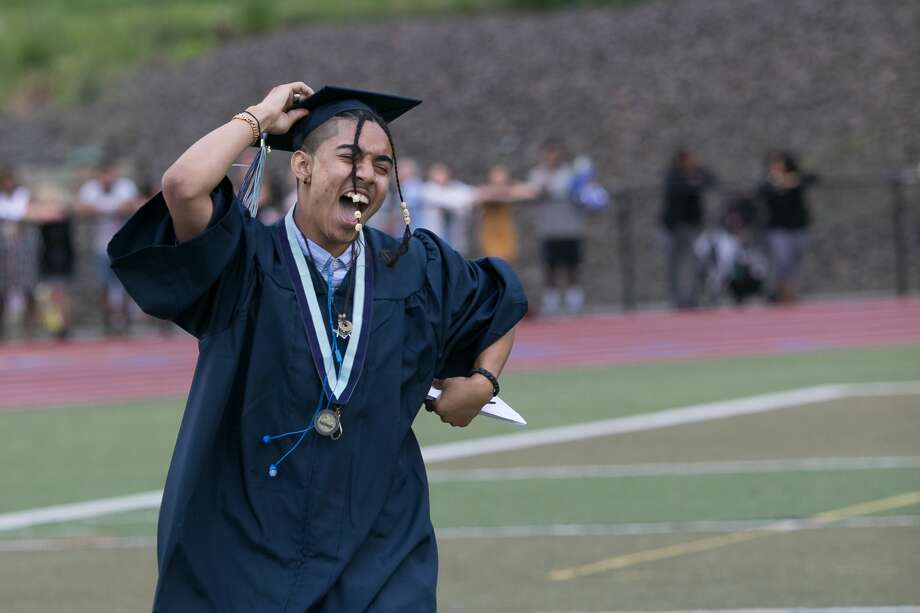 Images of Middletown High School's commencement exercises Wednesday, June 20, 2018 at Middletown High School. Photo: Sandy Aldieri / For Hearst Connecticut Media