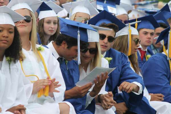 Old Saybrook High School graduated just over 100 students on Wednesday, June 20, 2018.