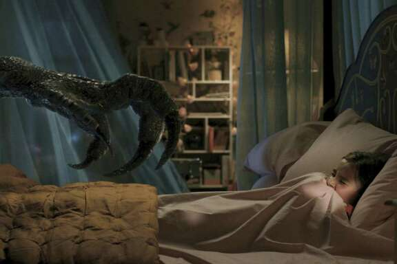 "Isabella Sermon in a scene from ""Jurassic World: Fallen Kingdom."""