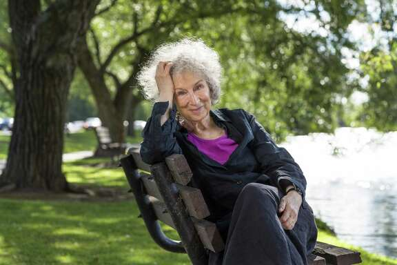 "Society for the Performing Arts will present ""An Evening with Margaret Atwood"" at Jones Hall on April 5, 2019."