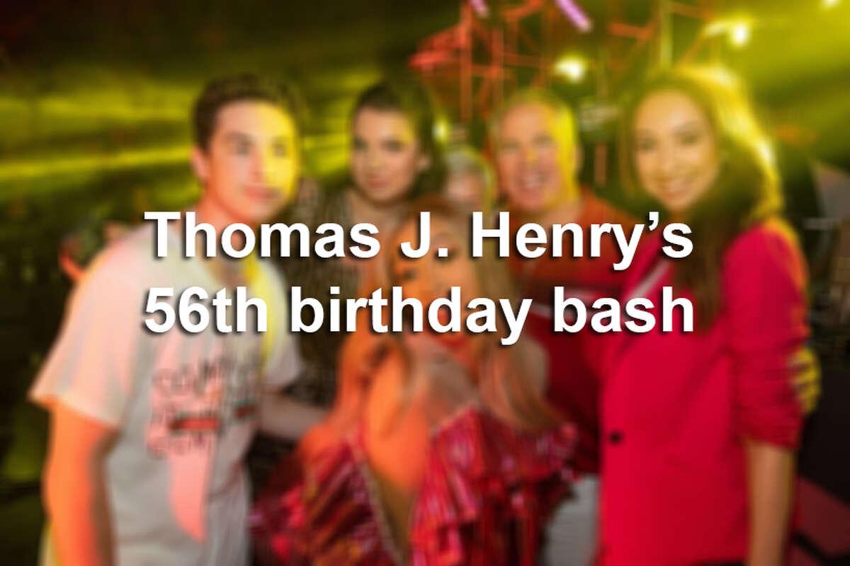 Thomas J. Henry's $4.5 million birthday bash at Miami Beach included Cardi B., DJ Khaled. Click ahead to see photos from the lavish event.