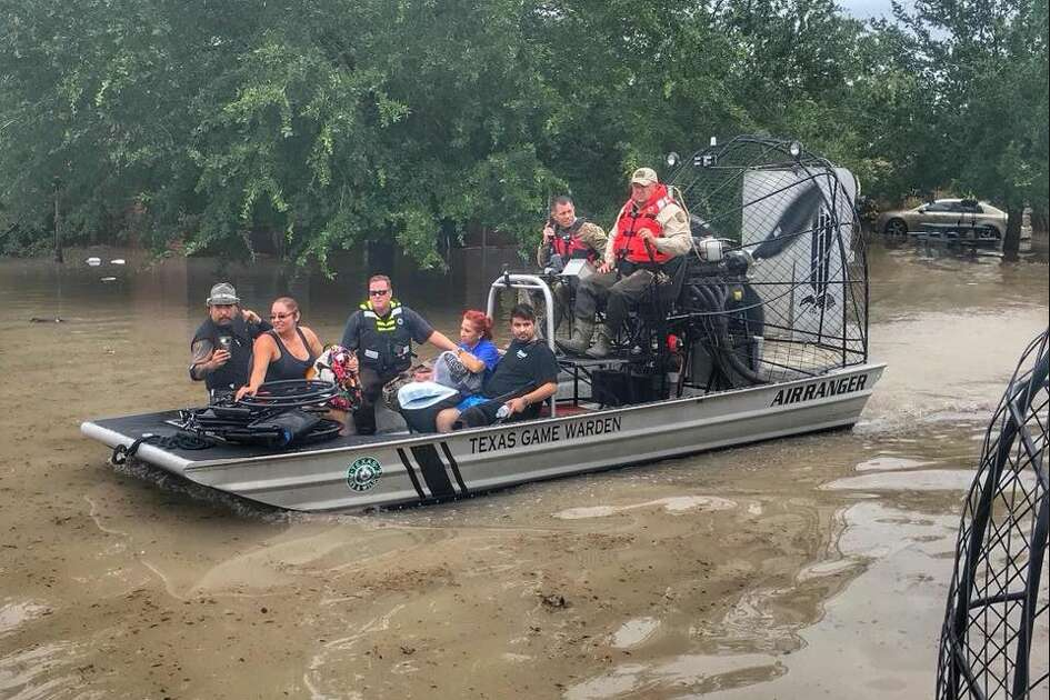 Texas Game Wardens went to work as severe flooding continued in Weslaco.
