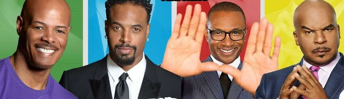 The Off Color Comedy Tour will feature, from left, Keenen Ivory Wayans, Shawn Wayans, Tommy Davidson and David Alan Grier.