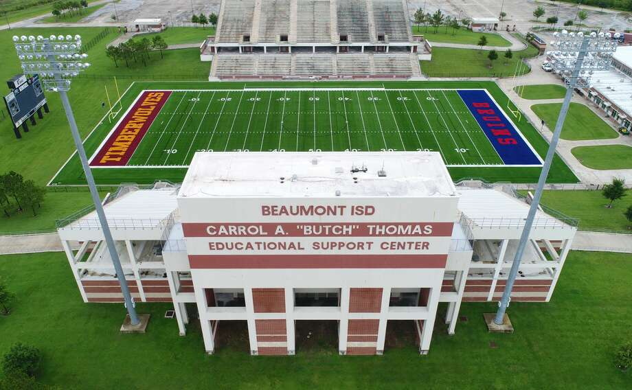 Click through to see how stadiums in SE Texas got their names. Photo: Guiseppe Barranco/The Enterprise