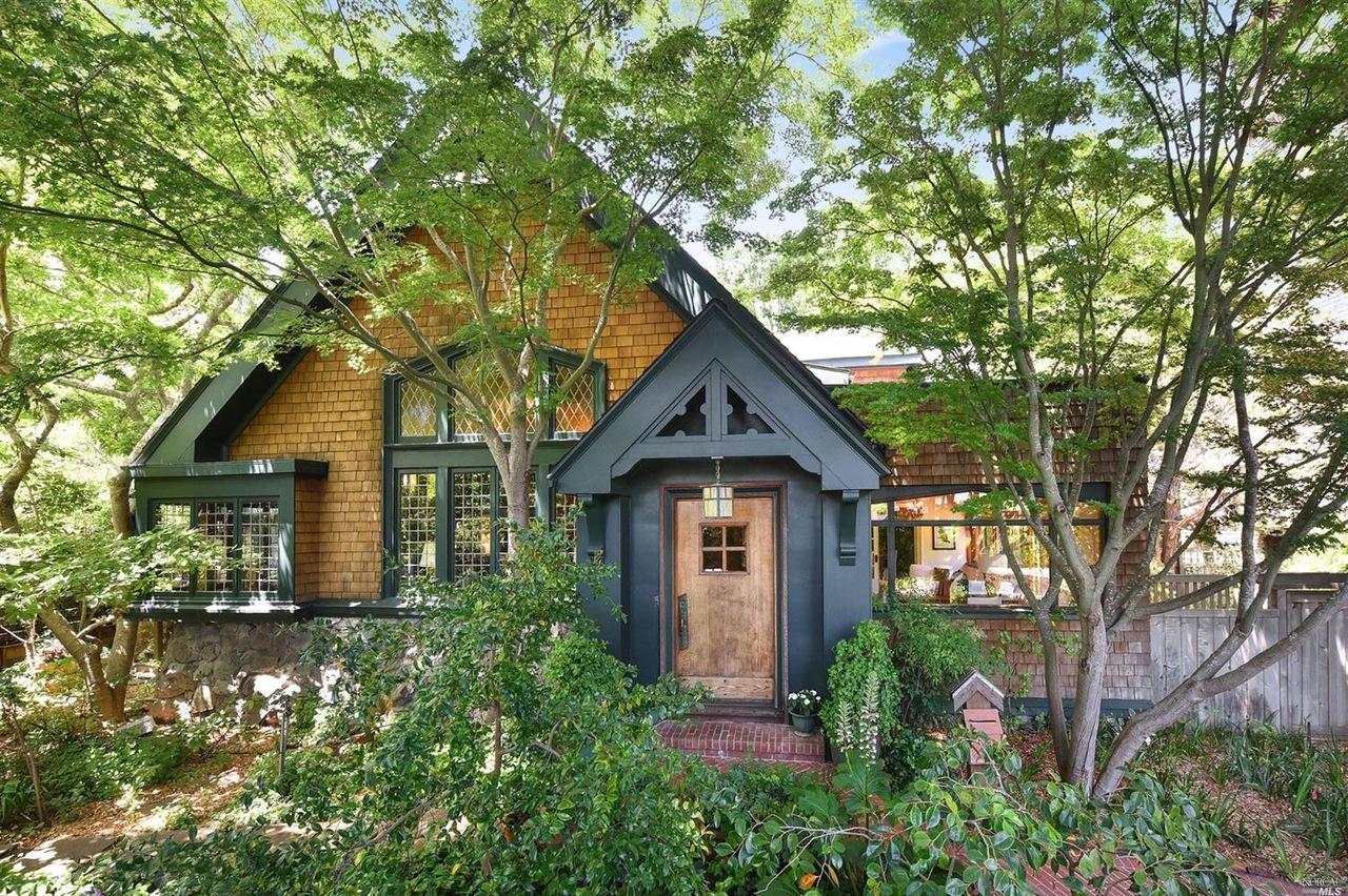 San Anselmo's 1913 historic 'Igloo House' listed for $3.3 ...