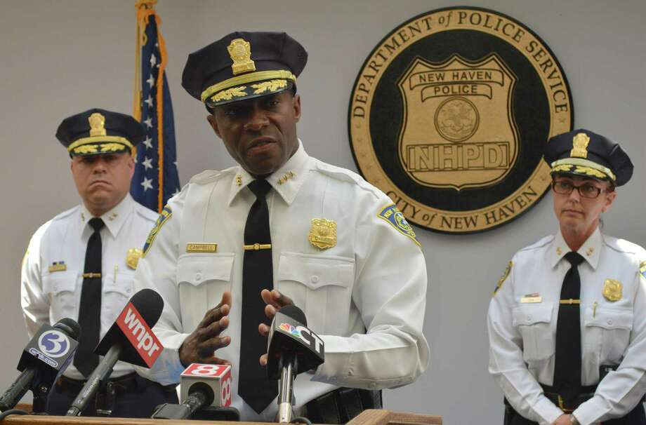 New Haven Police Chief Anthony Campbell June 21, 2018 Photo: Clare Dignan / Hearst Connecticut Media