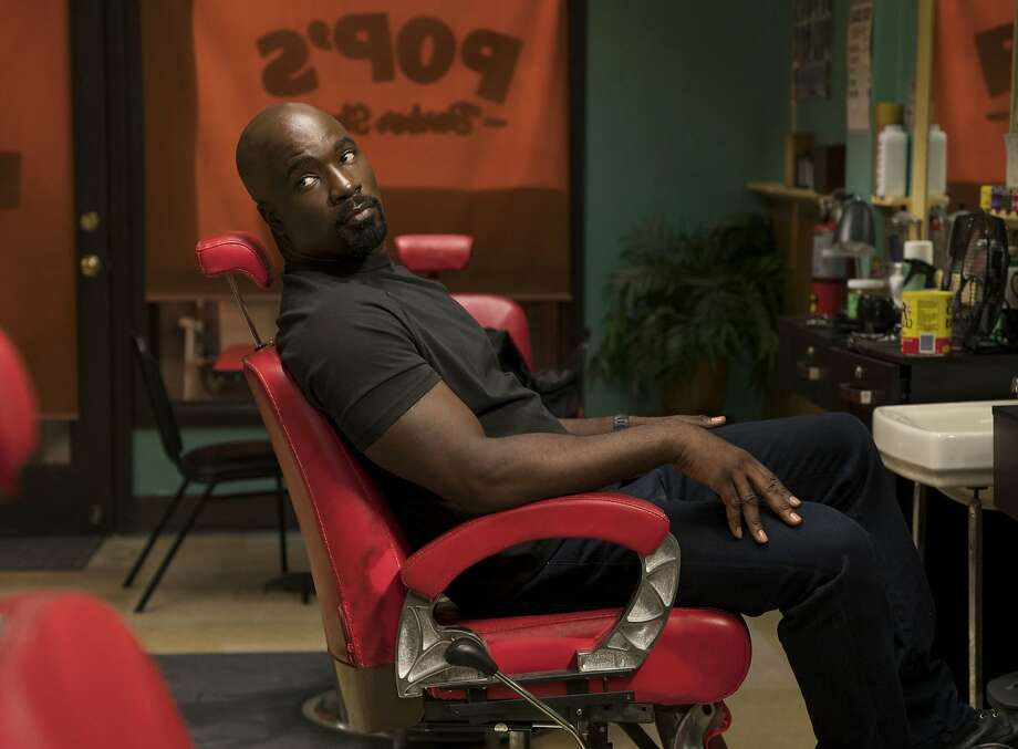 """Mike Colter in """"Marvel's Luke Cage,"""" which premiered its second season on Friday, June 22. Photo: David Lee / Netflix"""