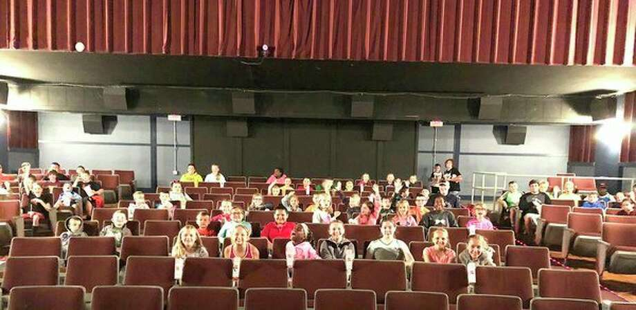 Bad Axe Park Rec kids stopped by the Bad Axe Movie Theatre on Thursday for a special, private screening of The Incredibles 2. (Bradley Massman/Huron Daily Tribune)