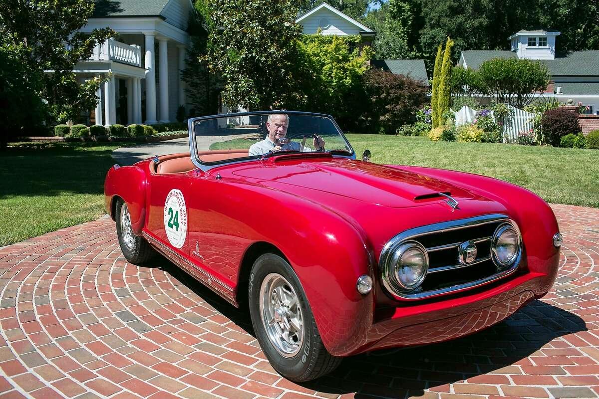 Jim Walton owns a 1953 Nash Healey Roadster