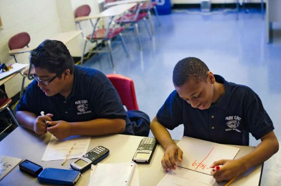 Critics say the Regents math exams have become easier to pass due to the way points are awarded Photo: NY Times