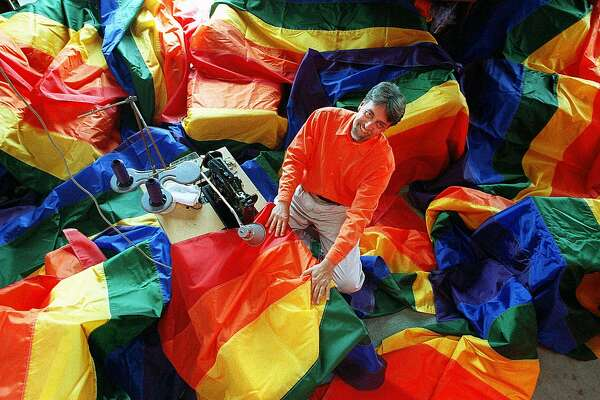 The rainbow flag turns 40 this year  Check out how it's been