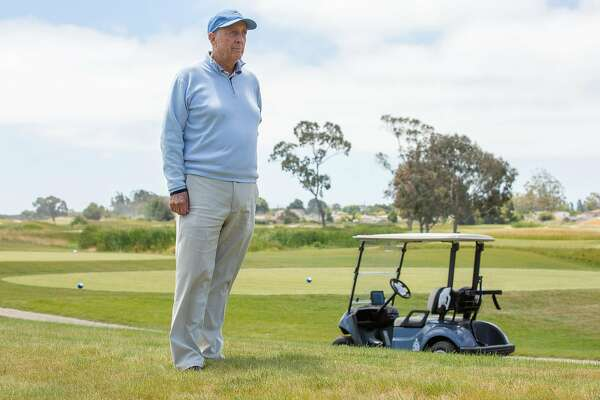 Rees Jones stands for a portrait at the south course of Corica Park, Wednesday, June 20, 2018, in Alameda, Calif. Jones is the golf course architect of the Corica Park South Course.