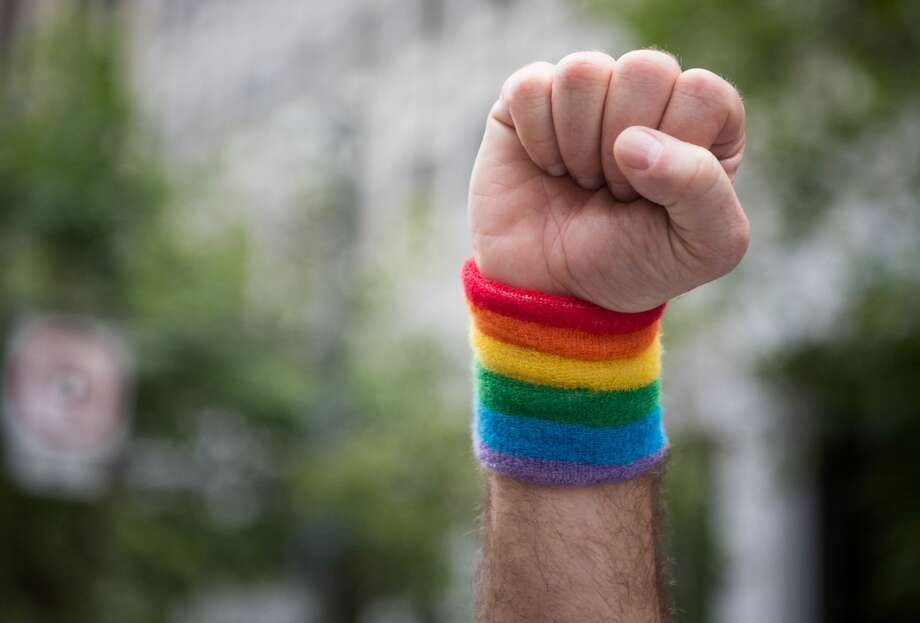 Laredo was the only city in Texas to score a 0 out of 100 on this year's Human Rights Campaign Municipal Equality Index, which measures how cities support their lesbian, gay, bisexual, transgender and queer populations. Photo: JOSH EDELSON/AFP/Getty Images