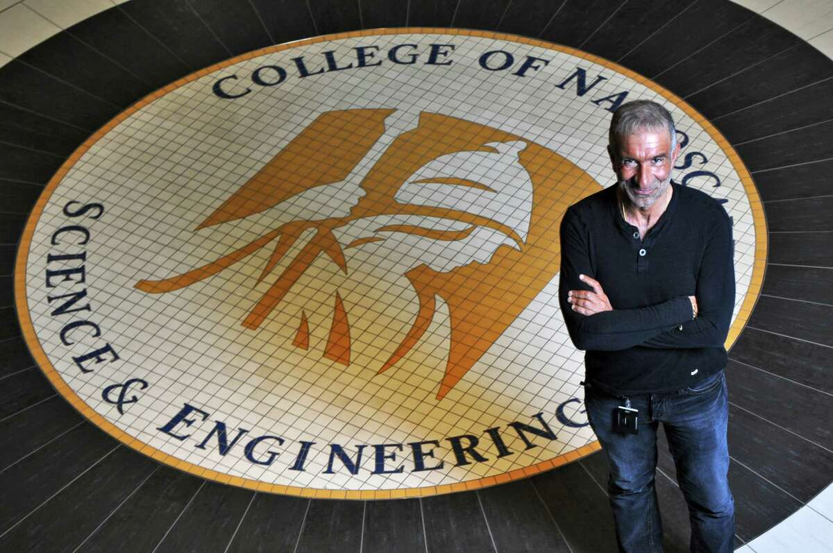 Alain E. Kaloyeros, Senior Vice President and Chief Executive Officer, College of Nanoscale Science and Engineering, on Tuesday June 26, 2012 in Albany, NY.(Philip Kamrass / Times Union)