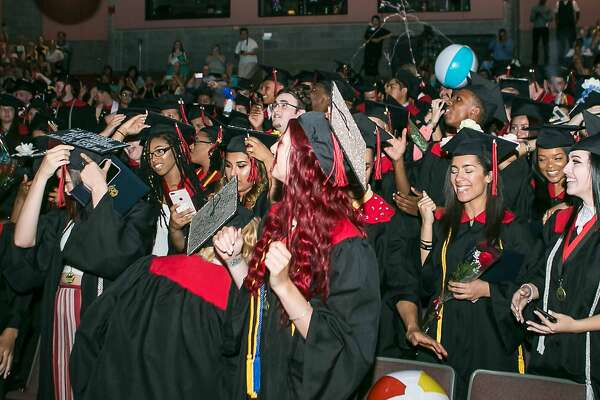 Platt Technical High School held commencement exercises Thursday at Southern Connecticut State University in New Haven.