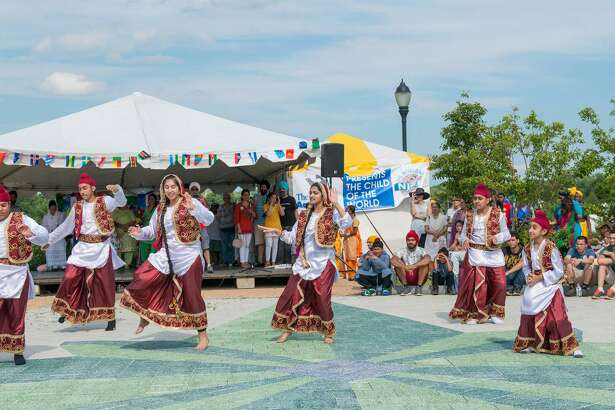 Bhangra dancers from the Guru Tegh Bahadur Ji Foundation Sikh community of Connecticut perform at the 2017 NICE Festival in Norwalk. This year's NICE Festival returns to Norwalk's Oyster Shell Park on July 7.