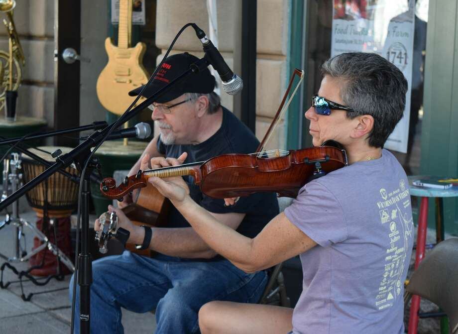 Make Music Day in Middletown is a live, free musical celebration on June 21, 2018, the summer solstice, that fills the city with concerts on the streets, sidewalks and in the parks. We're you SEEN? Photo: Michelle V. France