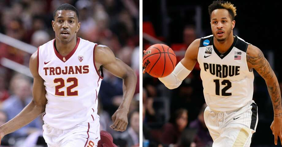 The Rockets selected USC's De'Anthony Melton and Purdue's Vincent Edwards in the second round of Thursday's NBA Draft. Photo: Getty