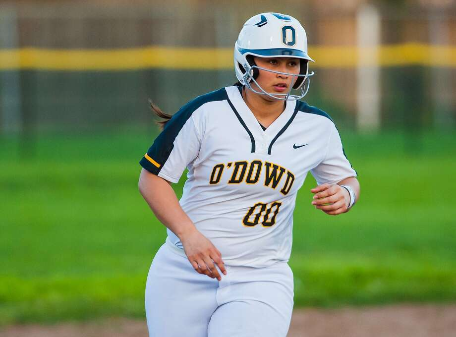 Bishop O'Dowd's Frankie Hammoude batted .569 with nine homers this year. Photo: Samuel Stringer / MaxPreps