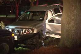 One person was injured after a crash in the Westchase District on Friday, June 22, 2018.