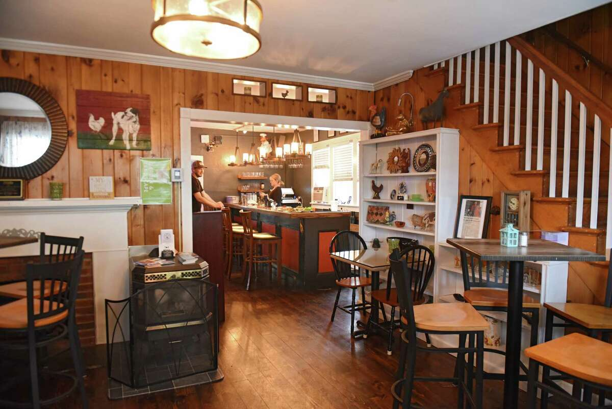 Interior of The Hen & The Hound Bistro on Thursday, June 14, 2018 in Middleburgh, N.Y. (Lori Van Buren/Times Union)