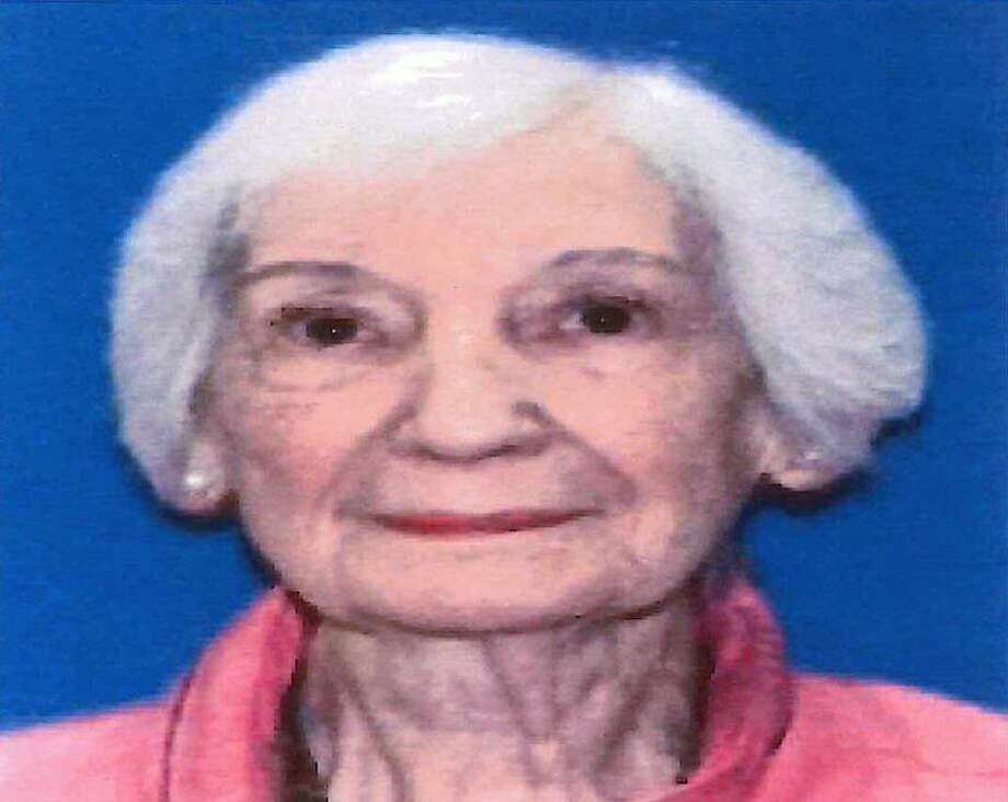 State Police have issued a Silver Alert for a 90-year-old woman on Friday, June 22, 2018. Troopers say Evelyn Sasko was last seen at 10:20 p.m. Thursday after leaving Danbury Hospital and traveling on eastbound I-84. She was driving a 2012 black Ford Taurus with a Connecticut license plate 157JAC. Photo: Connecticut State Police Photo