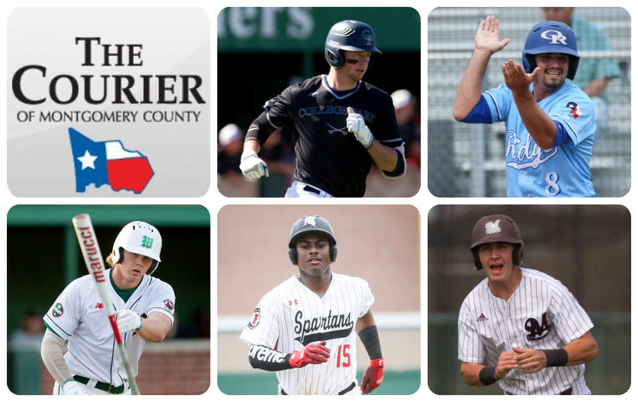 College Park's Luke Trahan, Oak Ridge's Logan Letney, The Woodlands Will Swope, Porter's Max Dias and Magnolia's Jordan Groshans are The Courier's nominees for Offensive MVP.