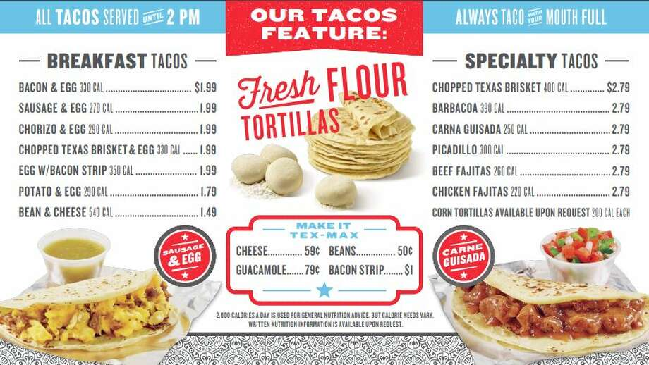 H-E-B opened True Texas Tacos inside the grocer's newest convenience store at Bulverde Road and Loop 1604 on June 15. Photo: Courtesy, H-E-B