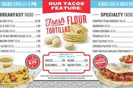 H-E-B opened True Texas Tacos inside the grocer's newest convenience store at Bulverde Road and Loop 1604 on June 15.
