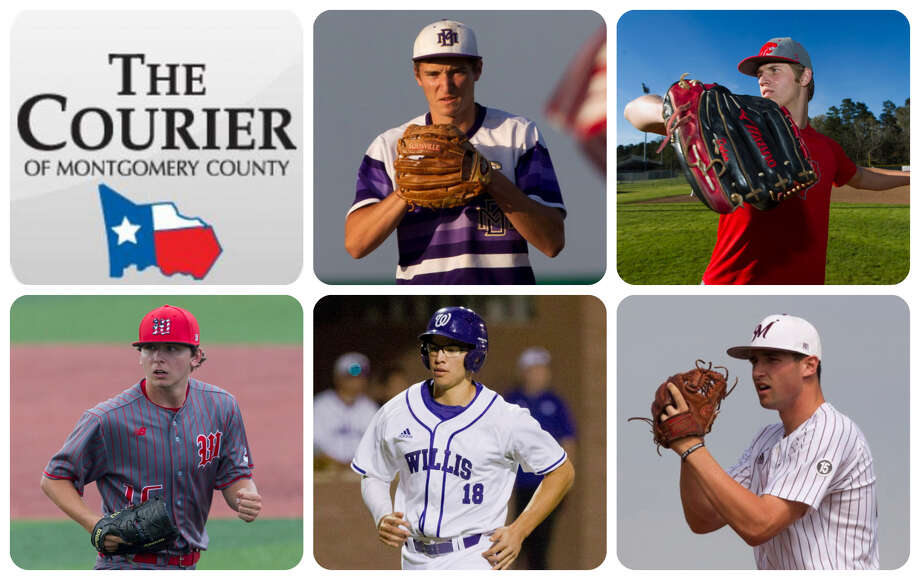Montgomery's Gavin LaBruyere, Splendora's Dylan Johnson, The Woodlands' Steven Beard, Willis' Brandon Birdsell and Magnolia's Adam Kloffenstein are The Courier's nominees for Pitcher of the Year.