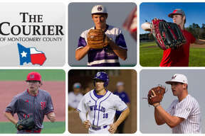 Montgomery's Gavin LaBruyere, Splendora's Dylan Johnson, The Woodlands' Steven Beard, Willis' Brandon Birdsell and Magnolia's Adam Kloffenstein are The Courier's nominees for Pitcher of the Year.