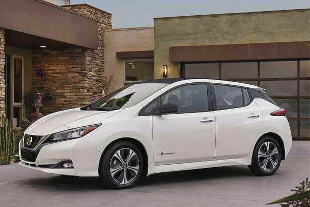 The exterior and interior have been restyled, and the new model has a 147-horsepower electric motor, up from the previous 107 horsepower. Torque was increased 36 percent, to 236 foot-pounds, giving the Leaf quicker starts.