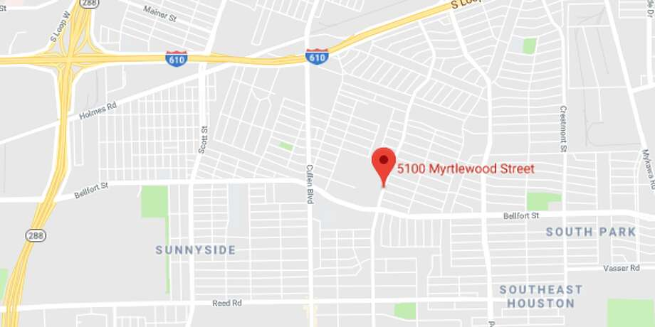 A man is on the run after allegedly firing a rifle during a fight on Myrtlewood, causing bullet fragments to hit two women who were standing nearby. Photo: Google Maps