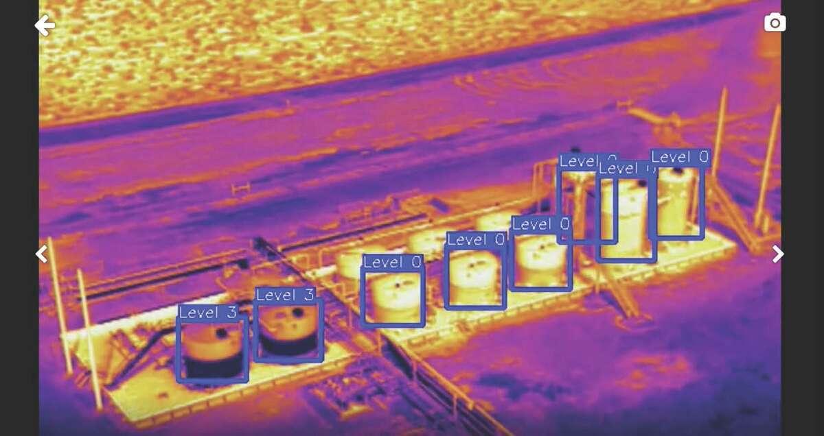 Avitas Systems can conduct volumetric analysis of storage tanks.