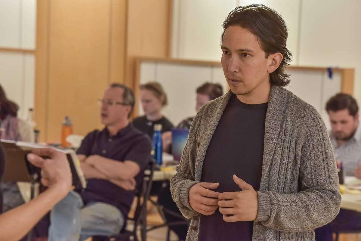 Conductor David Alan Miller with Assistant Conductor Kamna Guptacredit: Gary David Gold