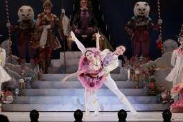 "Nozomi Iijima and Connor Walsh danced a perfect grand pas de deux Sunday as the Sugar Plum Fairy and Nutcracker Prince of ""The Nutcracker"" at Smart Financial Centre."