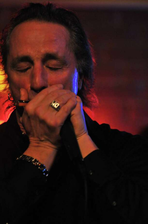 "Harmonica ace James Montgomery stops by the Space Ballroom on Friday, June 29, 2018 for a show that also will feature Christine Ohlman, Cliff Goodwin and the Uptown Horns, led by Crispin Cioe. Connecticut's Tom ""The Suit"" Forst Band https://www.tomthesuitforst.com/ will open the show -- billed as a ""Blues Super Session."" It begins at 8 p.m. Admission is $25 in advance, available at www.spaceballroom.com, or $30 at the door. Photo: John Lappen / Contributed Photo"