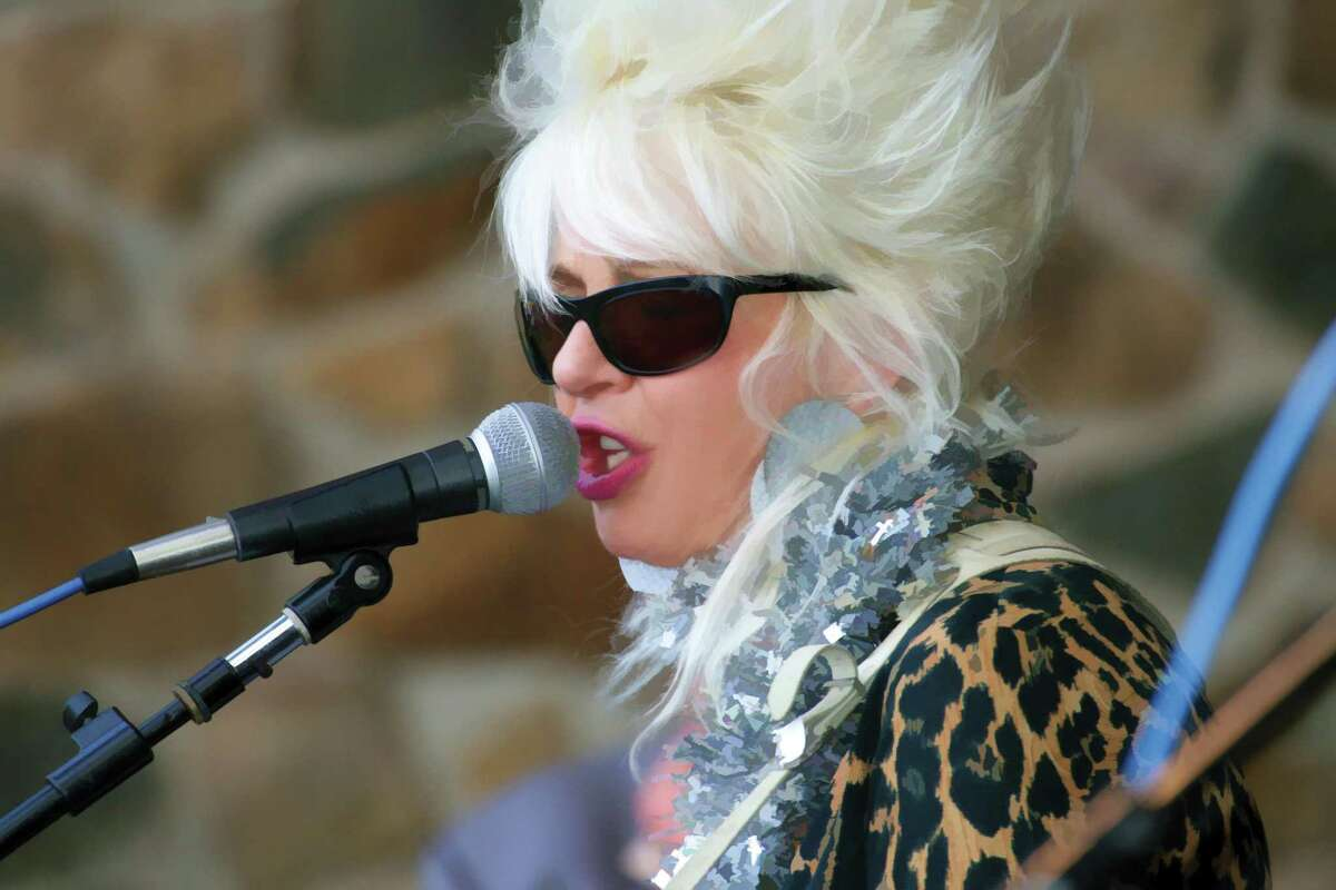"""Harmonica ace James Montgomery stops by the Space Ballroom on Friday, June 29, 2018 for a show that also will feature Christine Ohlman, pictured here, Cliff Goodwin and the Uptown Horns, led by Crispin Cioe. Connecticut's Tom """"The Suit"""" Forst Band https://www.tomthesuitforst.com/ will open the show -- billed as a """"Blues Super Session."""" It begins at 8 p.m. Admission is $25 in advance, available at www.spaceballroom.com, or $30 at the door."""