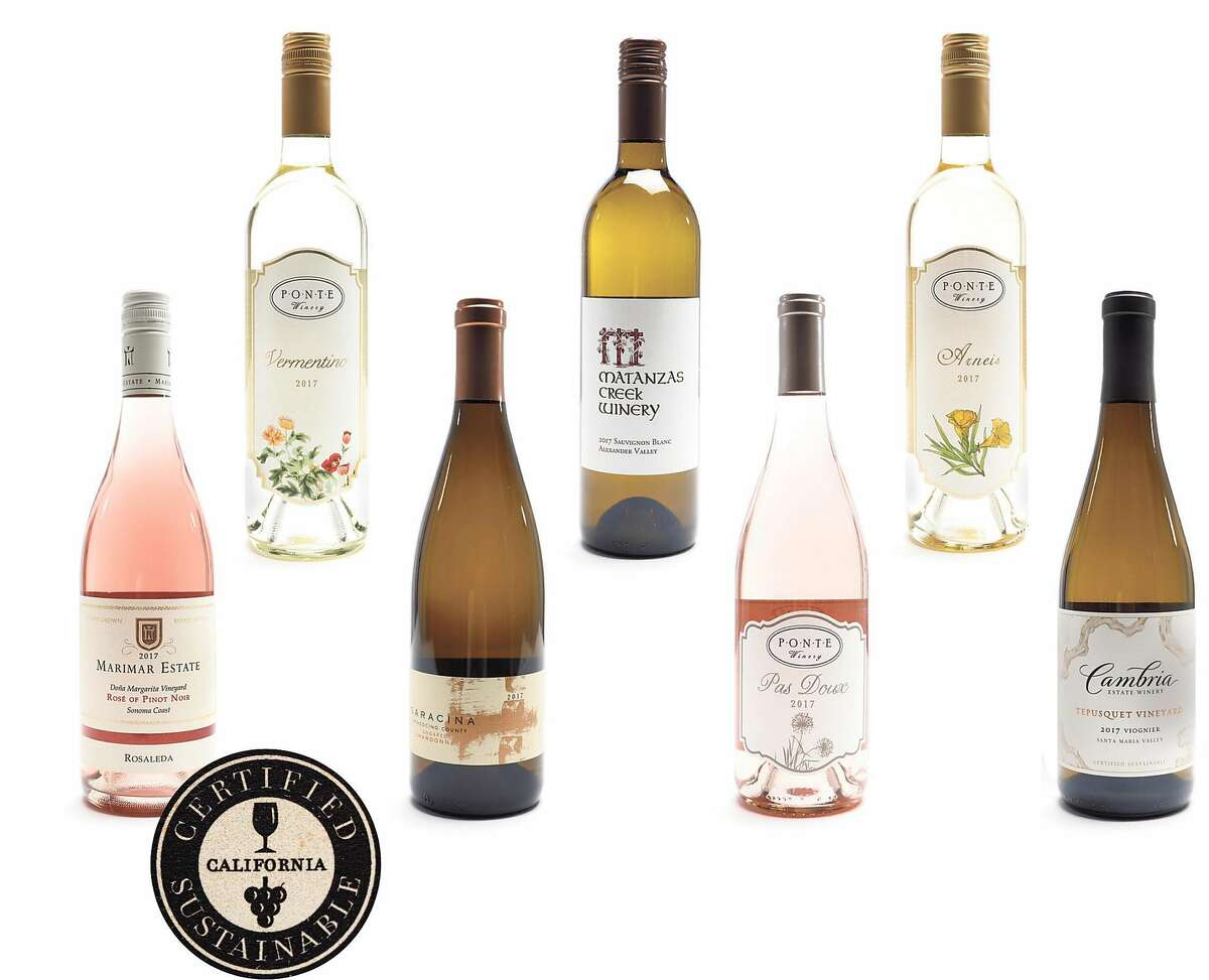 The new California Certified Sustainable logo can be found on several wines.