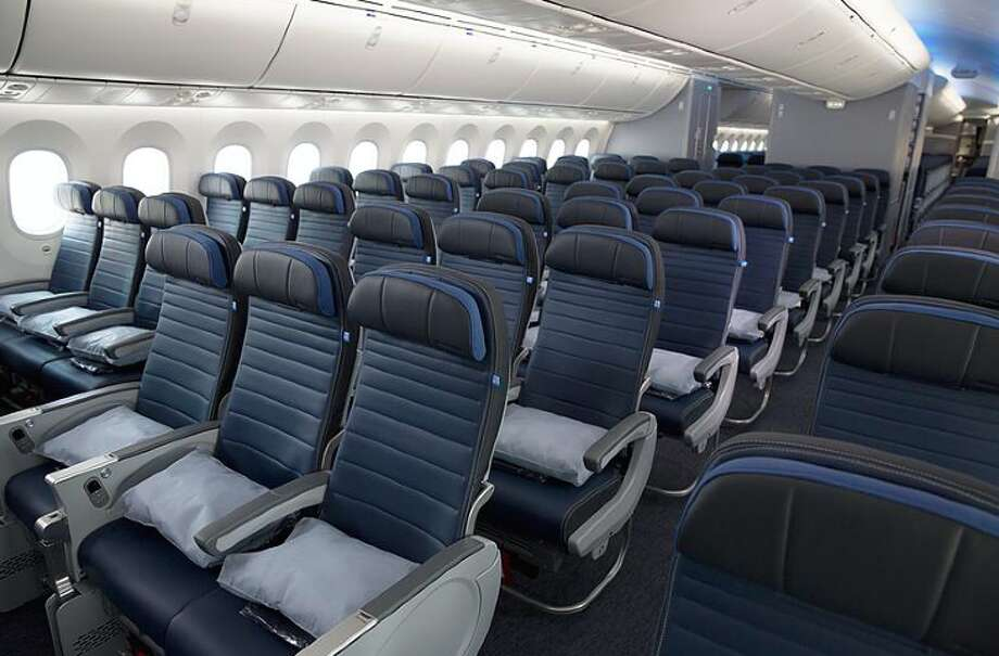 Economy class on United's 787-9, which it will use on new SFO-Amsterdam flights. Photo: United