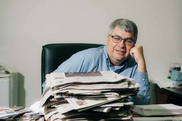 Sauk Valley Newspapers editor Jeff Rogers publishes two newspapers out of one newsroom in rural Illinois.
