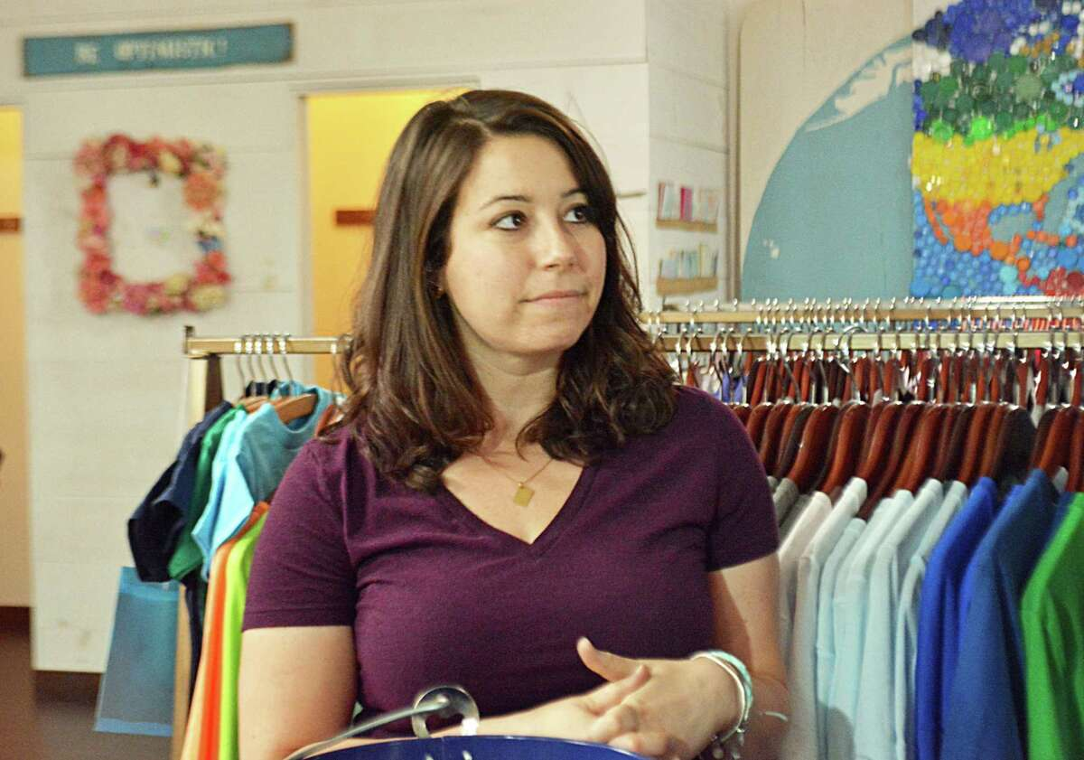 Eco-friendly apparel company Cinder + Salt Owner Rachel DeCavage invited Democratic candidate for governor Ned Lamont and his running mate, Susan Bysiewicz, to her Main Street Middletown shop Friday afternoon. The politicians spoke about the Supreme Court's recent ruling that will require online retail businesses to charge their customers sales tax.