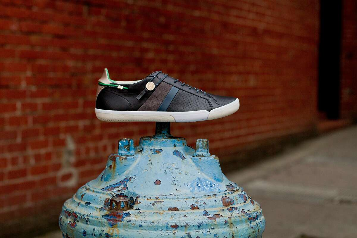 Plae teamed up with another local powerhouse, the Battery, to issue a limited-edition shoe in May. All proceeds from the sales of the blue and green Mulberry, adorned with the Battery Powered lightning bolt logo, will go toward the private social club�s community-benefiting Battery Powered program.