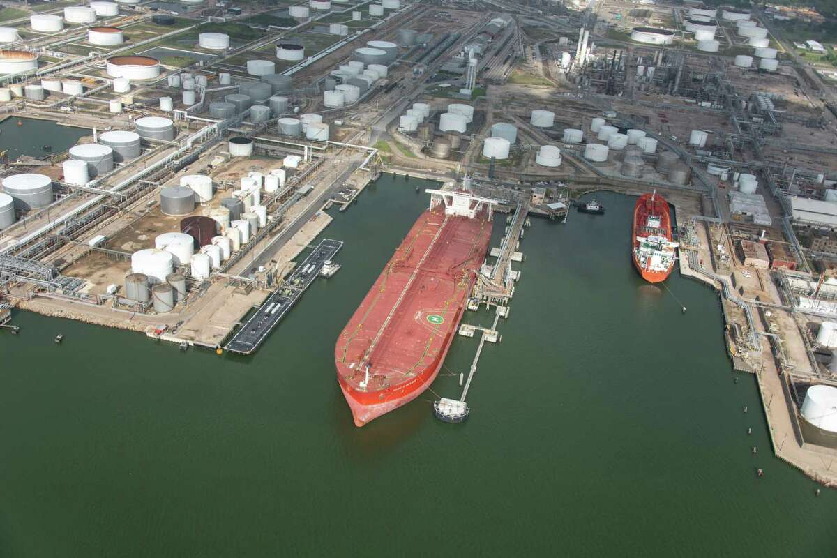 The FPMC C Melody is the first Very Large Crude Carrierto dock and take on crude oil in Texas City.