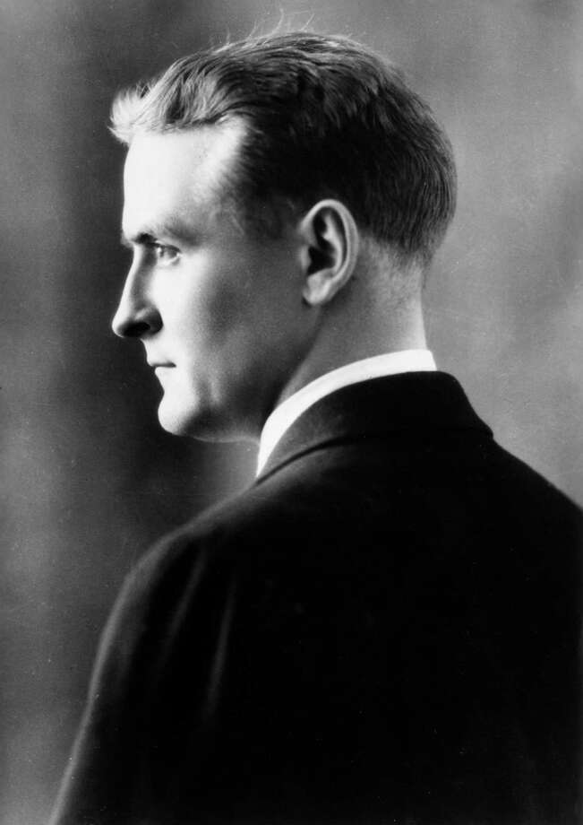circa 1925:  Profile studio headshot portrait of American writer F Scott Fitzgerald (1896 - 1940). Photo: Hulton Archive, Stringer / Getty Images / Photo by Hulton Archive/Getty Images