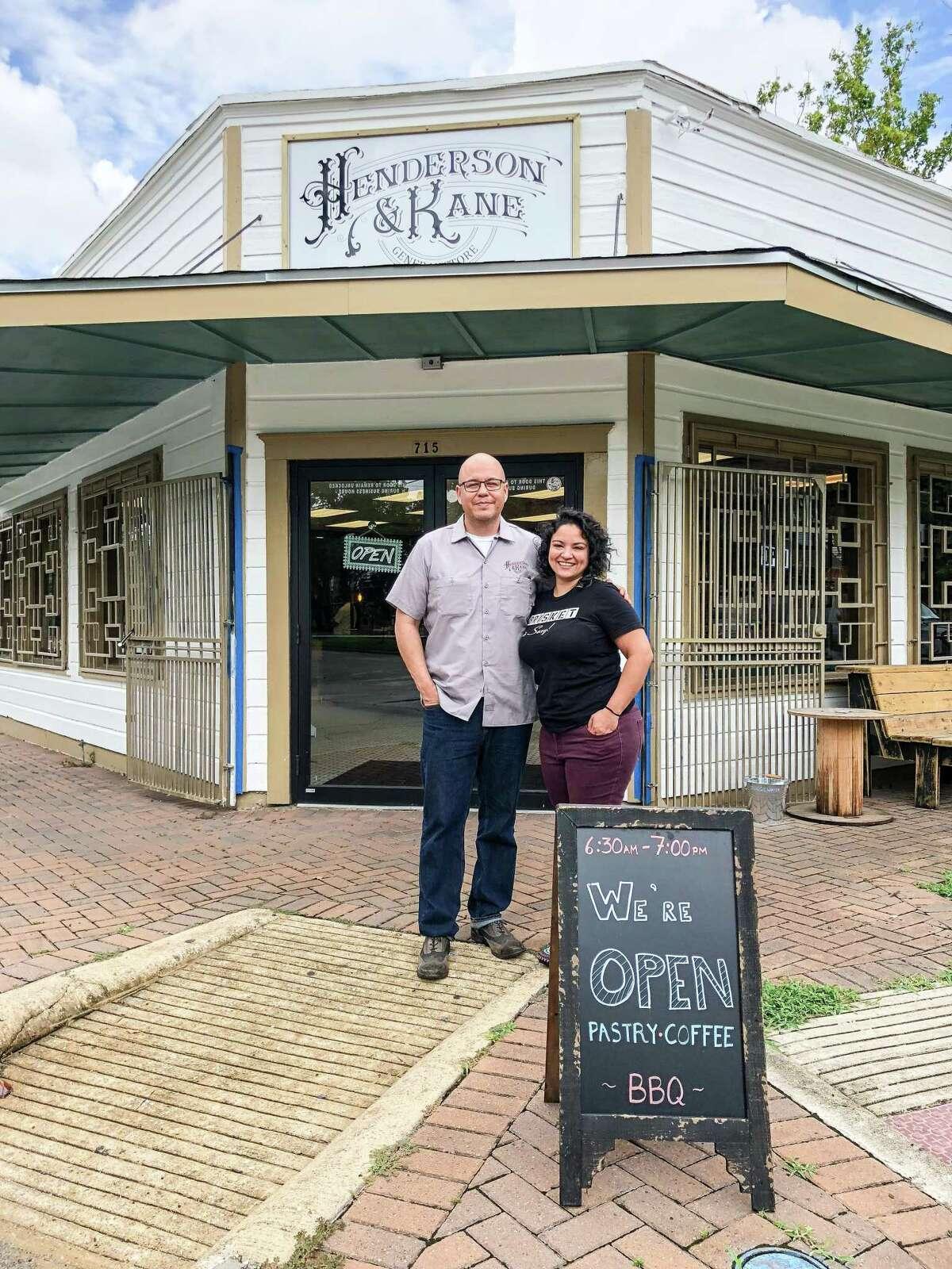 John and Veronica Avila at Henderson & Kane General Store