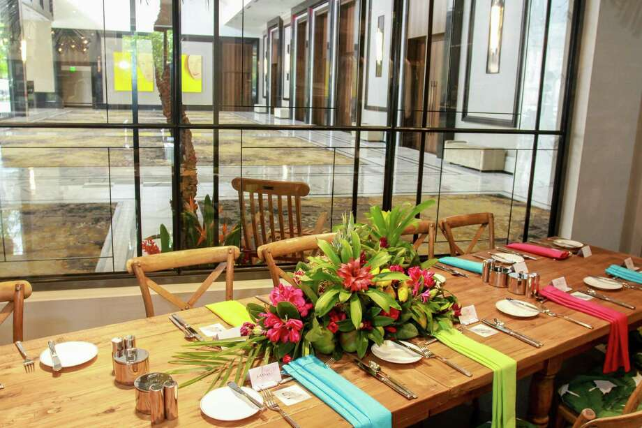 Decor for the Post Oak Hotel at Uptown Houston's boutique 29 Degrees North, for six influencers who were there for a fashion presentation, lunch and tour of the hotel. Photo: Gary Fountain, For The Chronicle / For The Chronicle/Gary Fountain / Copyright 2018 Gary Fountain