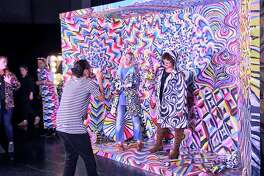 """Alexa Meade's """"Become a Masterpiece"""" one of the many photo-ready installations at Refinery29's 29Rooms in San Francisco."""
