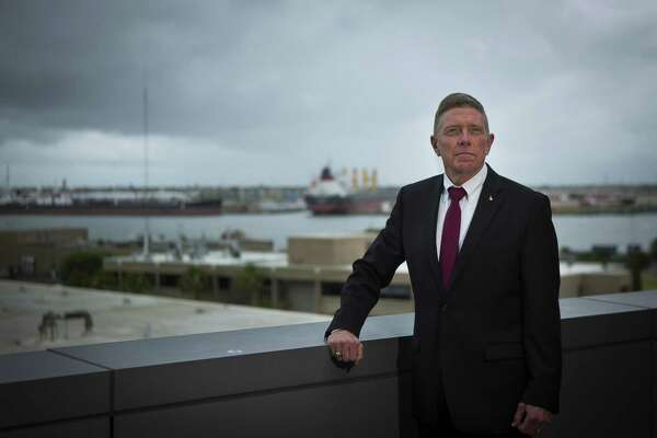 Col. Mike Fossum, chief operating officer at Texas A&M University at Galveston, is working on procuring a new ship for the university to train their mariners on in the future, Monday, June 18, 2018 in Galveston.  ( Mark Mulligan / Houston Chronicle )