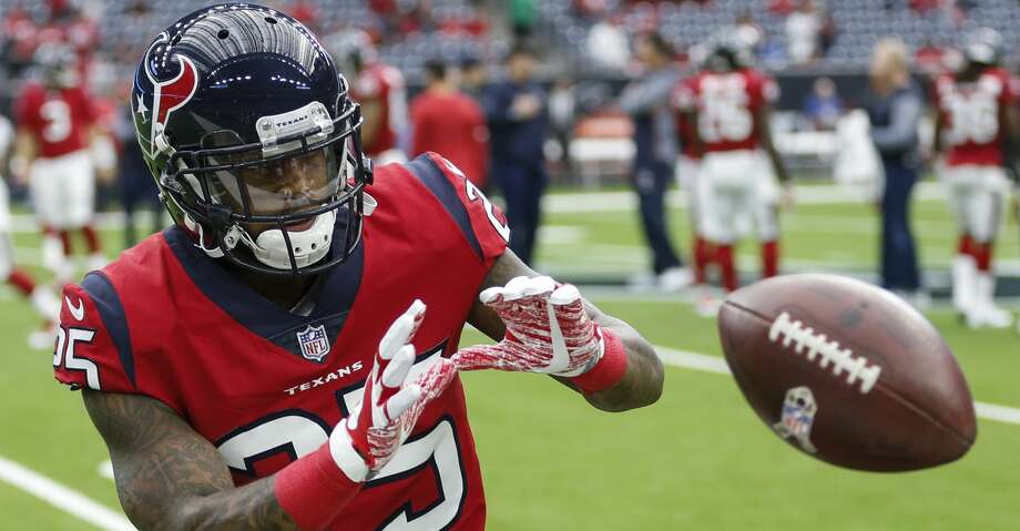 Texans cornerback Kareem Jackson did so well at safety during the offseason program that he's going to play the position full time when he gets to training camp. Photo: Brett Coomer/Houston Chronicle